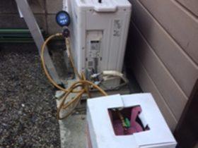 エアコンガス入れ・ガス漏れ補修